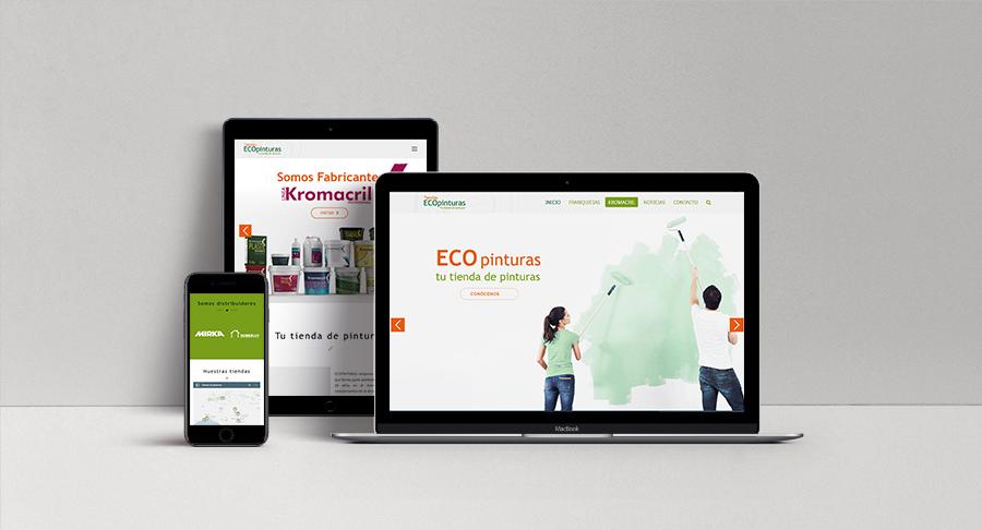 Nueva Web ECOpinturas