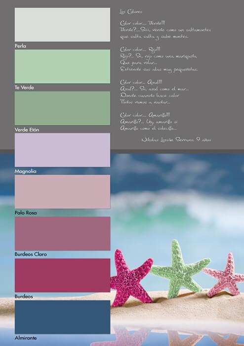 Carta de colores Kromacril Tendencia