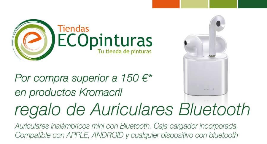 Promoción Auriculares ECOpinturas. Pinturas Kromacril